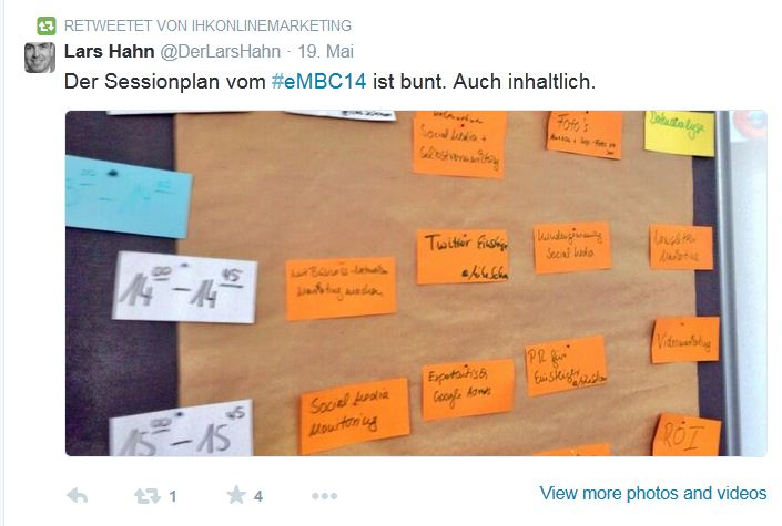 Hahn Tweet Sessionplan