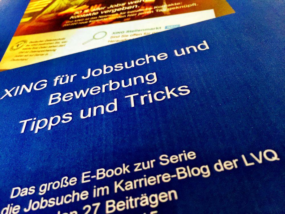 E Book Xing Für Die Jobsuche 2 Auflage Artikel